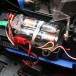 Tamiya Nitrage 5.2 RTR Receiver Battery Installed